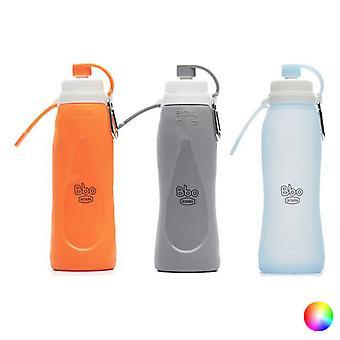 Flaska Irisana BBO17 Silikon (500 ml)/Grå