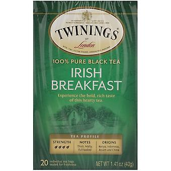 Twining Tea Tea Irsh Brkfst, Case of 6 X 20 Bags