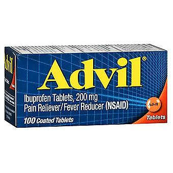 Advil Advil Pain Reliever And Fever Reducer Coated Tablets 200 mg, 100 tabs