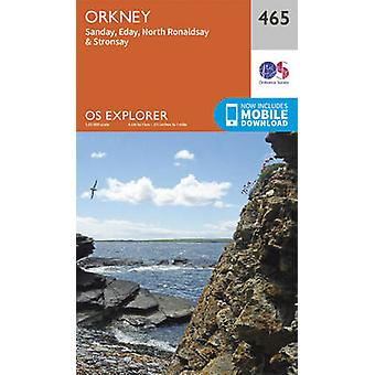 Orkney  Sanday Eday North Ronaldsay and Stronsay by Ordnance Survey
