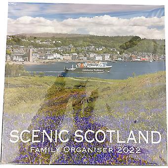 2022 Calendar Scenic Scotland Family Organiser Lomond Books
