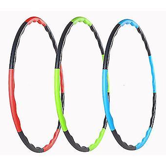 Copii Hoola Hoop,8 noduri reglabil Hoola Hoop pentru sport, fitness (Albastru + negru)