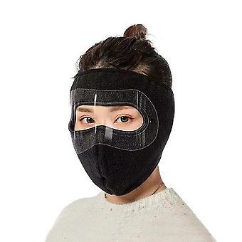 Winter fietsen, full face masker skimasker vissen skiën hoed hoofddeksel met