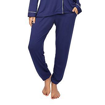 Cyberjammies Ellie 4959 Pantalon pyjama modal bleu marine féminin