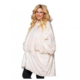 Ladies Thickened Double-sided Lazy Clothes(White)