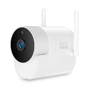 Smart Outdoor Camera - Waterproof With 150???Wide Angle And 1080p Wifi Night