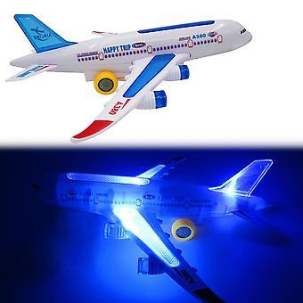 Multicolor Flash Plane Toy Sound Aircraft Music Lighting Children Kids Toys