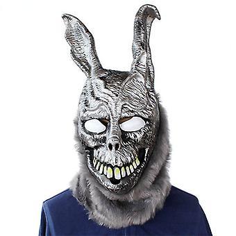 Tier Cartoon Kaninchen Maske Donnie Darko Frank Der Hase Kostüm Cosplay Halloween Party Maks Zubehör