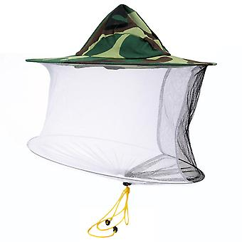 Camouflage Anti-bee Hat Beekeeping Equipment