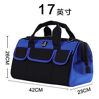 حقيبة أدوات مقاومة للماء مع حزام الكتف حقيبة حزام الخصر 17 بوصة كهربائي المحمولة حقيبة تخزين أداة العمل