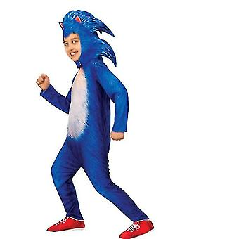 Sonic Boy Cosplay Costumes,children's Festival Costumes