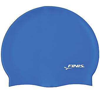 FINIS硅胶泳帽 - 蓝色