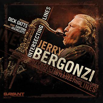 Jerry Bergonzi - import USA de lignes qui se croisent [CD]