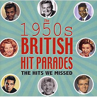 Britse Hit Parades: De Hits We gemist 1954-59-Britse Hit Parades: The Hits We gemist 1954-59 [CD] USA importeren