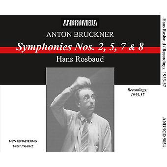 Bruckner - Syms 2 5 7 & 8 [CD] USA import