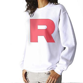 Pokemon Team Rocket R Women's Sweatshirt