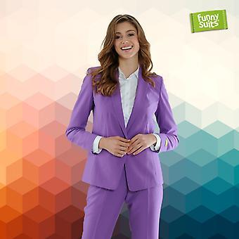 Purple Heart women suit purple Miss Purple 2-piece costume deluxe EU SIZES