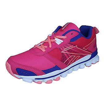 Reebok Hexaffect laufen Mädchen laufen Trainer / Schuhe - Pink