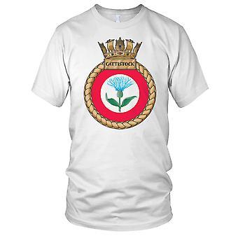 Royal Navy HMS Cattistock Ladies T Shirt
