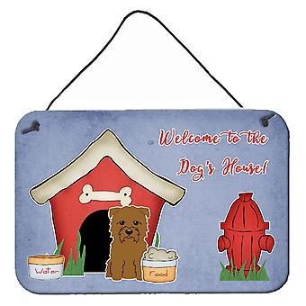 Dog Haus Sammlung Glen Imal Tan Wand oder Tür hängen Drucke