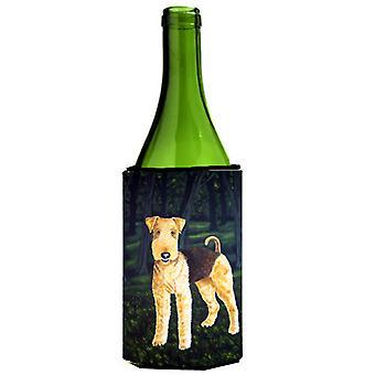 Delta Airedale Terrier botella de vino bebidas aislador Hugger