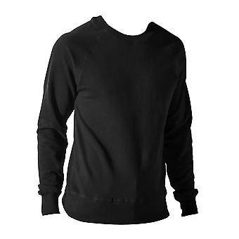 Nakedshirt Mens Clement Crew Neck Cotton Blend Sweatshirt