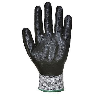 sUw - 3 paar Pack gesneden 5 resistent 3/4 nitril Foam Hand bescherming handschoen
