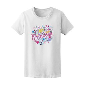 Princesa muñeca tipografía Doodle gráfico t - imagen de Shutterstock