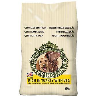 Harrington pies żywność pełne Turcja i warzywa suchy