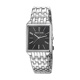 Pierre Cardin reloj de reloj Unisex señoras CHEMIN NEUF negro PC106691F06