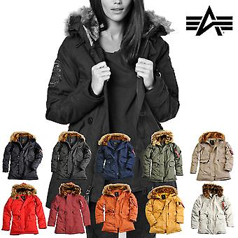Alpha Industries Damen Winterjacke Explorer