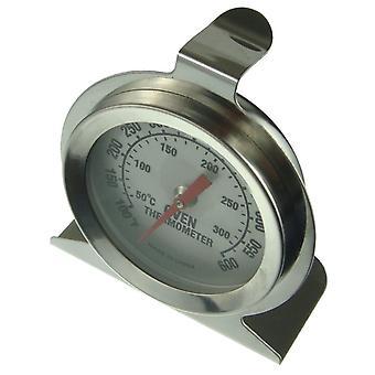 Rustfritt stål komfyr ovnen termometeret temperaturmåler 300° C 600° F