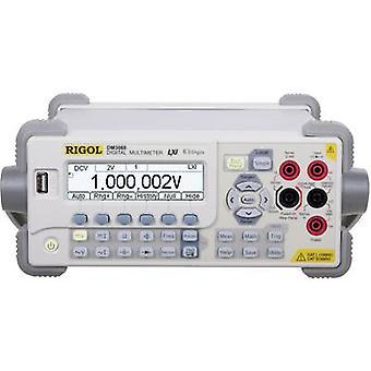 Rigol DM3068 Bench multimeter Digital CAT II 300 V Display (counts): 2200000