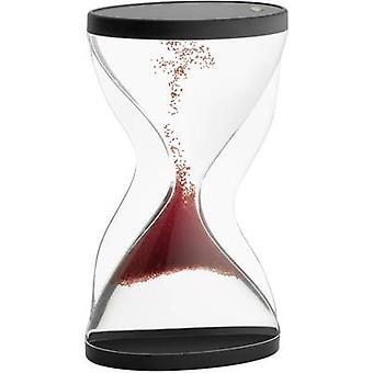 TFA Dostmann 18.6004.05 Hourglass Acrylic glass (clear), Red, Black Mechanical