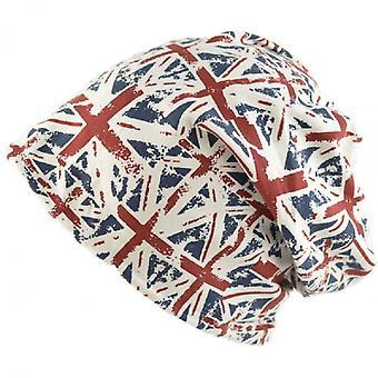 جاك الاتحاد ارتداء قبعة قبعة صغيرة ترهل الاتحاد جاك