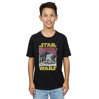 Star Wars T-Shirt Boys die letzten Jedi AT-AT