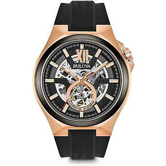बुलोवा पुरुषों की घड़ी क्लासिक स्वचालित 98A177