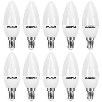 10 x Sylvania ToLEDo bougie E14 3.2W Homelight LED 250lm [classe énergétique A +]