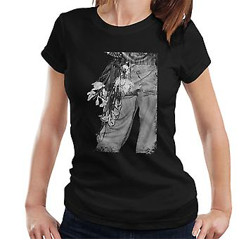De Smiths Morrissey bloemen In de achterzak Women's T-Shirt
