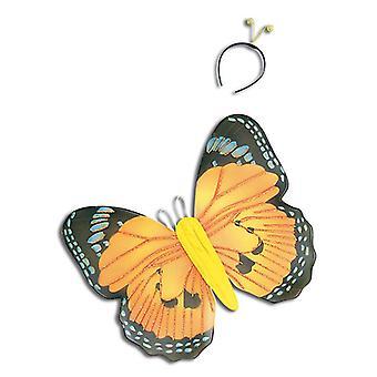 Yellow Butterfly Kit & Antennae.