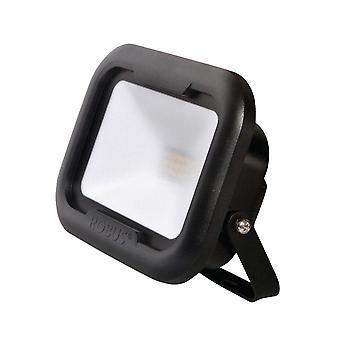 LED Robus Remy 10W Cool biały czarny LED Flood światła