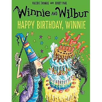 Winnie and Wilbur - Happy Birthday - Winnie by Valerie Thomas - Korky