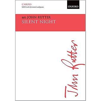 Silent Night - Vocal Score by John Rutter - 9780193416109 Book