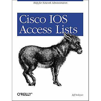 Cisco IOS Access Lists by Jeff Sedayao - 9781565923850 Book