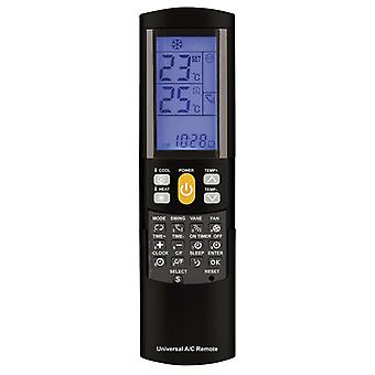 Universal Remote Control for Air Conditioners w/ Backlit LCD