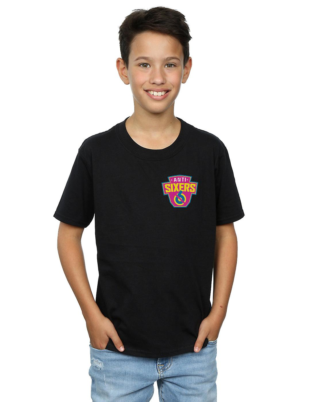Ready Player One Boys Anti Sixers Breast Logo T-Shirt