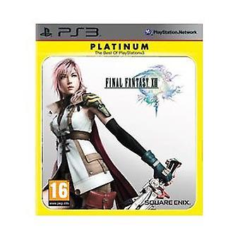 Final Fantasy XIII - Platin (PS3) - Neu