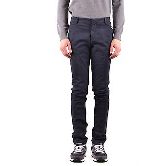 Kenzo Ezbc013012 Men's Blue Cotton Pants