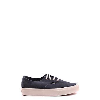 Vans Ezbc071008 Women's Blue Suede Sneakers