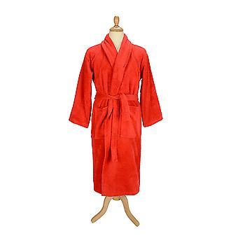 & R uteráky dospelí Unisex kúpeľ župan s šál golier